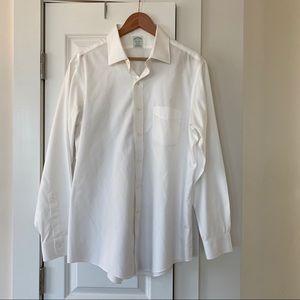 White Dress Shirt (Milano Slim Fit)